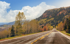 The passenger (G.E.Condit) Tags: gecondit grantcondit newmexico nm colorado co road highway landscape 6d rockymountains mountains
