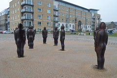Antony Gormley's Assembly (CoasterMadMatt) Tags: london2017 london assembly2017 assembly antonygormly anthonygormley antonygormley anthonygormly artwork art publicart sculpture statue statues mouldsforanotherplace moulds mould building structure architecture royalboroughofgreenwich royal borough greenwich city cities capitalcityofengland capitalcityofbritain englishcities capitalcity southeastengland england britain greatbritain gb unitedkingdom uk february2017 winter2017 february winter 2017 coastermadmattphotography coastermadmatt photos photographs photography nikond3200