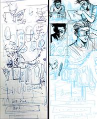 PAGE 8-WIP (vampyre_angel13) Tags: wip artoftheday lunchtimeart progress scribble digitalart digitalsketch digitaldrawing comics comicart comicpage digitalcomic dailydrawing dailyart johncrow