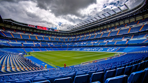 Real Madrid's Estadio Santiago Bernabéu, Madrid, 20150427