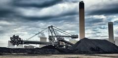 Power (Explored) (amfawcett) Tags: drax powerstation yorkshire coal electricity sky conveyor industry bucket chimney selby england uk