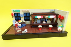Italian Bar - ABS Builder Challenge Part 3 (-Balbo-) Tags: lego moc abs builder challenge balbo creation bauwerk bar restaurant