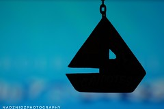 MM - S I L H O U E T T E (NadzNidzPhotography) Tags: artofphotography artwork art creativephotography boat keychain black nadznidzphotography macromondays silhouette