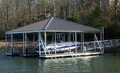 Double Slip Hip Roof Docks