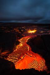 Lava Glow (Raiatea Arcuri) Tags: lava flow 61g kalapana volcano kilauea volcanoesnationalpark hawaii bigisland