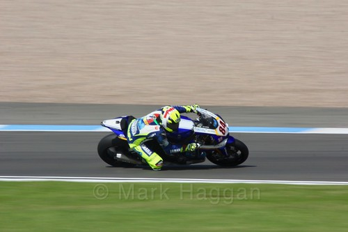 Riccardo Russo in World Superbikes at Donington Park, May 2017
