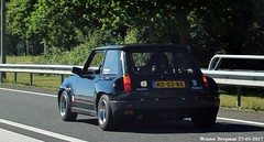 Renault 5 Turbo 2 1985 (XBXG) Tags: rd02bx renault 5 turbo 2 1985 renault5 re5 r5 black noir a1 naarden nederland holland netherlands paysbas vintage old classic french car auto automobile voiture ancienne française vehicle outdoor