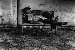 Sleep In The Heat Of Bangkok City (Armin Fuchs) Tags: arminfuchs thailand bangkok street sleep