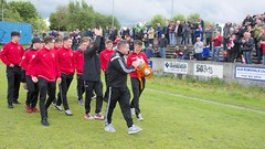 A warm reception for the 1998s Scottish Youth FA Cup winners (Stevie Doogan) Tags: clydebank shettleston mcbookiecom west scotland league superleague first division holm park saturday 20th may 2017 bankies scottish juniors