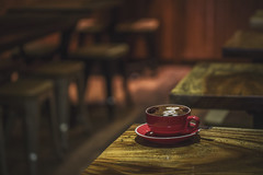 Cafe ☕️ (S♡C) Tags: cafe coffee cappuchino bunny goldfish skullandcrossbones