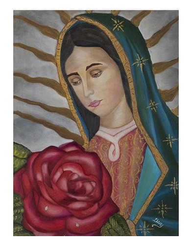 Autor: LUCIA EMILIA CORONA MARTINEZ, Eres mi fortaleza  80x60 cm