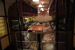 IMG_0736 Burlington Pioneer Zephyr train - mail compartment at rear (kurtsj00) Tags: chicagomuseumofscienceandindustry chicago museum science industry burlington pioneer zephyr train stainless
