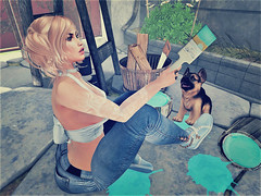 Dont Cry Over Spilt Paint (Sparkle Mocha) Tags: happiness is homemade zen creations hello tuesday discount event cosmo stores magika – a perfect mess romantic roses carol g mainstore kitja x parker fran pants uber top jian scruffy shepherds 6 companion tan black past off mp minimal underground background 1 breathejordan sneakersserenity 6º republic frozen posespaint brush pose 04 marketplace