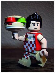 Bob's Big Boy (LegoKlyph) Tags: lego custom burger bobs big boy classic icon hamburger restaurant vintage food minifigure