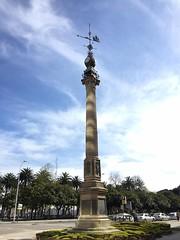 El obelisco la Coruña