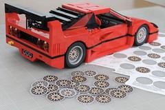 Ferrari F40 LM Super-Mod: Iteration (// PROTOTYP) Tags: lego creator ferrari f40 lm supermod 10248