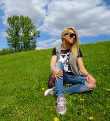 20170530Jovana. Park Pobedi-2 (OlegZaytsev) Tags: парк победы девочка модель на природе сити блондинка russian girl moscow2017 model beauty