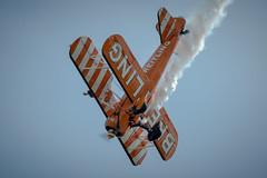77 (somedaysooned) Tags: d800 duxford iwmduxford imperialwarmuseum iwm airshow airfestival aviation aircraft aeroplane airforce aerobaticdisplayteam airfestival2017 wingwalkers breitling