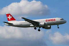 Swiss Airbus A320-200 HB-IJH (SimonFewkes) Tags: lhr egll heathrow heathrowairport londonheathrow avgeek aircraft aviation aircraftphotography aeroplanes airport aviationphotography aircraftphotos aircraftspotter aeroplane spotting spottinglog
