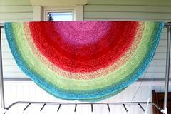 2017.06.04. matto halk. nyt 175cm 3100m (villanne123) Tags: 2017 progressing villanne virkattua virkattu virkattumatto crochet crocheting crochetrug matto rug teeteeapollo schachenmayrjourney