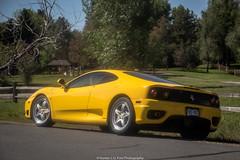 Modena (Hunter J. G. Frim Photography) Tags: supercar colorado ferrari 360 modena yellow v8 italian ferrari360 ferrari360modena giallo giallomodena