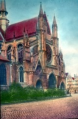 ypres st martin befoure the bombardment (foundin_a_attic) Tags: ypres st martin befoure bombardment war europe great