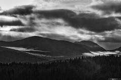 Scottish Highlands in BW #3 (Matt Anderson Photography) Tags: highangleview atmosphericmood builtstructure capitalcities cleat cloudsky colorimage colors curve day dramaticlandscape dramaticsky edinburghscotland extremeterrain famousplace fog glenfinnan hebrides hill horizontal island isleofskye landscape lensflare loch lushfoliage luxuriant moor morning motion mountain mountainrange mountainridge nonurbanscene outdoors overcast panoramic photography quirang rockobject scenicsnature scotland scottishculture scottishhighlands dramaticweather rain storm sunrisedawn tranquilscene traveldestinations trotternish uk valley wilderness madison wisconsin usa