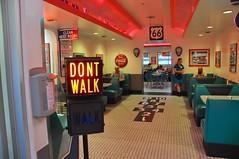 3-098 66 Diner Interior (megatti) Tags: 66diner albuquerque desert diner newmexico nm restaurant sign