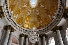Dem Himmel etwas näher (Nikonfotografie) Tags: blicknachoben nikond7100 nikon nikonlove potsdam historisch friedrichdergrose architecture architektur schloss schlösser sanssouci gold