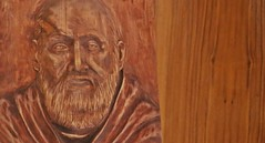 Księżówka, kaplica (płaskorzeźba przedstawiające br Alberta Chmielowskiego)