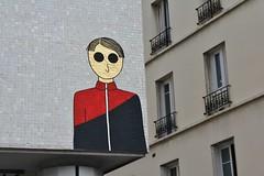 Kam & Laurene_6212 passage Charles Dallery Paris 11 (meuh1246) Tags: streetart paris kamlaurene passagecharlesdallery paris11