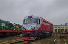 2M62UM-0100 (Kolyan_R.) Tags: m62 2m62 2m62u 2m62um cz loko riga latvia depot ldz locomotive 2m62um0100 тепловоз м62 2м62 2м62у 2м62ум локомотив депо рига латвия лдз поезд