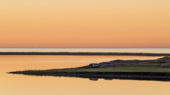 orange iceland (kewlscrn) Tags: seascape landscape iceland island nikon remo bivetti d800 sigma 70200mm f140 200mm 15 iso100 orange sunset colour mirror reflexion reflection house strong composition photography travel beautiful schön sonnenuntergang awsome wow sea meer wasser gras tele teleobjectiv haus nacht night damm kewlscrn contrast kontrast picture water