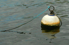 Buoy (Durley Beachbum) Tags: 52in201744 buoy mooring river round bournemouth june buoyant yearend17