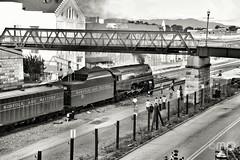 Simmering 611 (MrRailfan190) Tags: norfolk southern steam program excursion nw 611 j class locomotive western roanoke virginia va