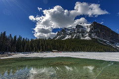 Lake Louise, Banff Alberta (angie_1964) Tags: lakelouise banff alberta canada mountain rockies clouds sky landscape nature nikond800
