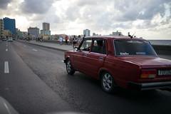 Cuba - Malecón (In.Deo) Tags: cuba havana malecón street urban taxi
