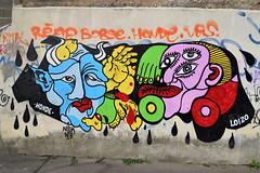 Honde  • Loizo (HBA_JIJO) Tags: streetart urban graffiti vitry vitrysurseine art france hbajijo wall mur painting aerosol peinture paris94 spray bombing urbain charactere urbaine culture loizo sex nsk