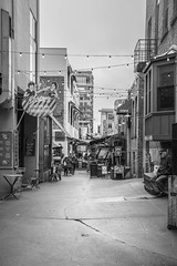 Post Alley (AndreaSimental) Tags: pikeplace market seattle bw washington