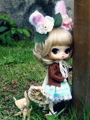 Lost (Pliash) Tags: doll pullip groove byul cute kawaii bunny lolita felt pushie plush handmande girl
