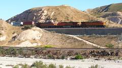BNSF at Cajon Jct (flannrail) Tags: bnsf cajonpass cajonjunction train railroad mountain