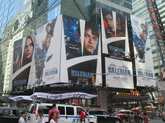 Valerian and the City of a Thousand Planets Billboard Poster 7197 (Brechtbug) Tags: valerian city thousand planets billboard poster times square nyc 2017 french science fiction comics series from 1967 valérian laureline written by pierre christin illustrated jeanclaude mézières film movie directed luc besson new york 06212017