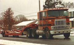 International, Dallas & Mavis #931 (PAcarhauler) Tags: ih international coe cabover semi trailer tractor