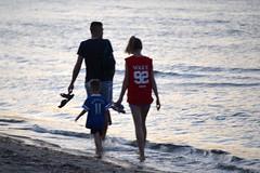 Twilight Strollers (RobW_) Tags: twilight strollers tsilivi beach zakynthos greece tuesday 20jun2017 june 2017