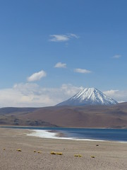 Laguna Miscanti (jess_star87) Tags: lagunamiscanti chile sanpedrodeatacama atacamadesert lake blue mountains snow wilderness