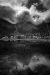 Yosemite in Black and White (tompost) Tags: yosemite blackandwhite bw landscape clearingstorm clouds anseladams nationalpark ynp