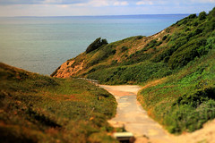 Isle of Wight UK (JensRongved) Tags: isle wight totland uk england great britain south cliffs clouds sea colours scenery senory front coast walk road ocean