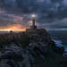 The Light at the End of the World (Carlos F. Turienzo) Tags: españa galicia nariga spain malpica coruña lacoruña faro lighthouse sea seascape explore light sunset pano panoramic panorama