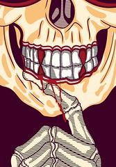 Death wish (www.instagram.com/thiagor6/) Tags: arte ilustração design vetor thiagor6 desenho