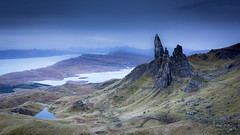 Morning at The Old Man of Storr (lsten) Tags: grass rock spring natureview sharp travelphotography nature water day hills theunforgettablepictures tripod wideangle leelittlestopper iconic landscapephotography canoneos5dmarkiv 27mm sky stunning serenity mystical majestical valley formatthitechcolbybrownsignature daylight shore graduatedndfilter cliche calm cliffs lake amazing f14 overcast iso200 magnificent rocks naturephotography clouds moor blue viewingpoint scenery formatthitech view isleofskye canonef1635mmf4lisusm sunrise ridge pinnacle oldmanofstorr landscape scotland singleshot